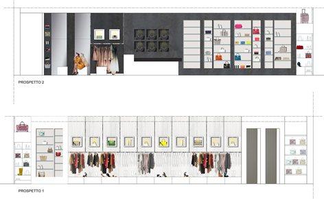 Progetto per boutique