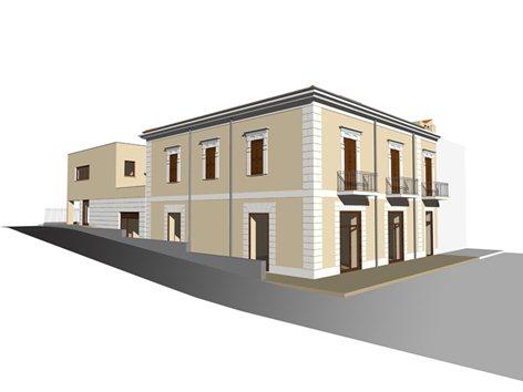 Ristrutturazione e ampliamento di un edificio
