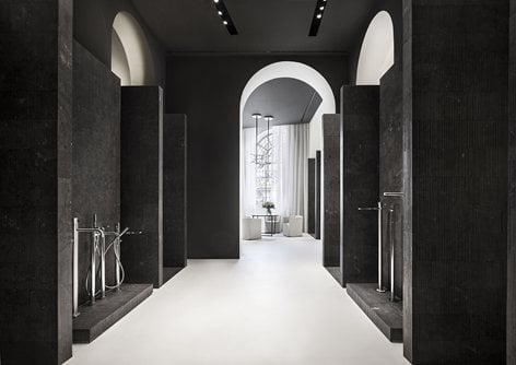 Fantini showroom