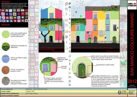 Patchwork : patine infisse dal tempo