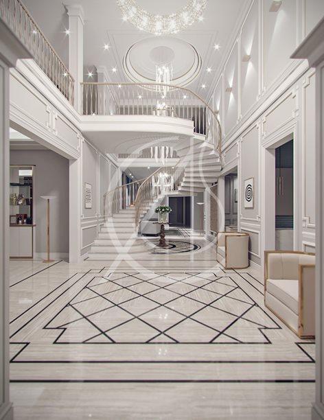 Contemporary Classic Villa Design Comelite Architecture Structure