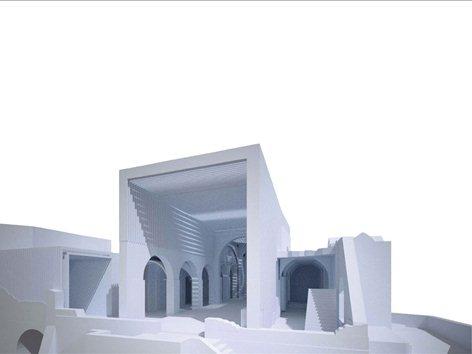 Riconfigurazione della Cattedrale del Castello Aragonese di Ischia-2° classificato