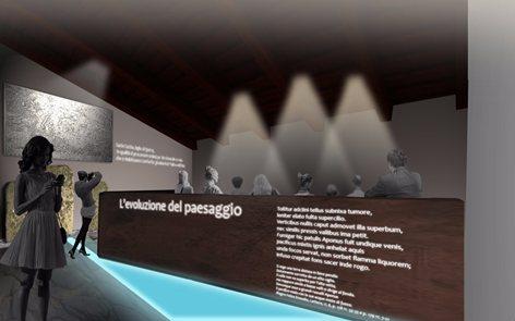 Museo del Termalismo nel complesso di Villa Draghi a Montegrotto Terme (PD)