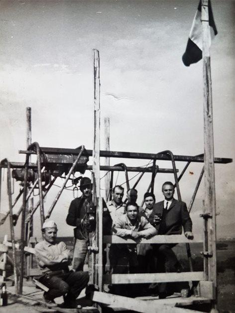 Palazzina anni '60 alla periferia di Roma