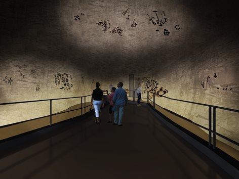 Proposta per il nuovo Museo d'Arte Parietale Grotta dei Cervi a Porto Badisco, Otranto ( LE)