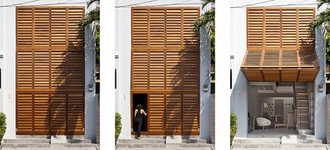 Vietnamese Town House Mm Architects