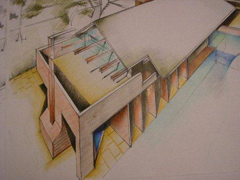 Progetto di una villa unifamiliare in centro a Pordenone