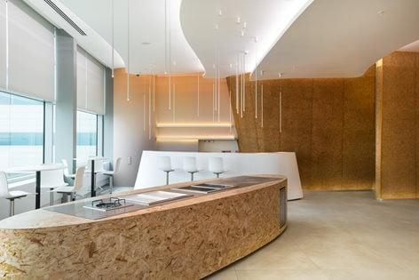 THE SUN» Business Lounge, Platov airport    VOX Architects