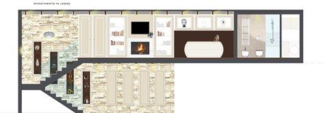 Casa privata, progetto interni
