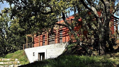 Nota -B Casa ecologica bioclimatica e neovernacolare