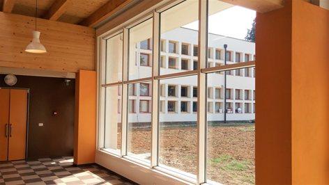 Nuova aula magna/polifunzionale per il plesso scolastico
