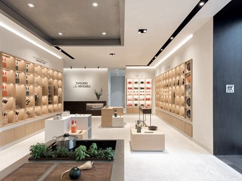 Flagship concept Store, Restaurant and Bar, Zwilling