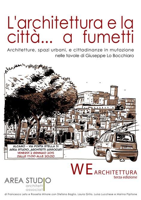 L'architettura e la città...  a fumetti