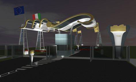 concorso   Entrata Autodromo di Monza