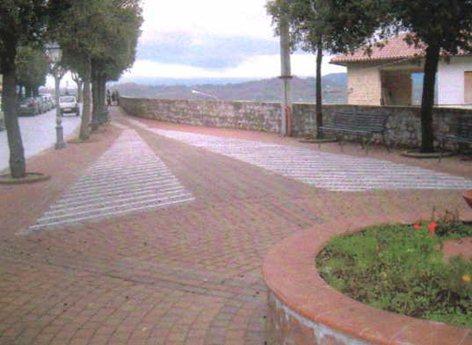 Arredo urbano Piazza Magliani