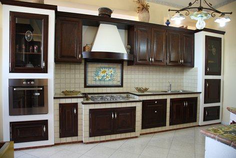 Cucina finta muratura | Caruso Arredi