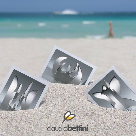 Claudio Bettini centrotavola soprammobile design moderno