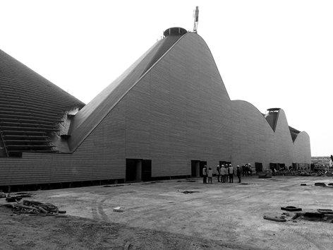 Pavilion Zero for Expo Milano 2015 | Work in progress