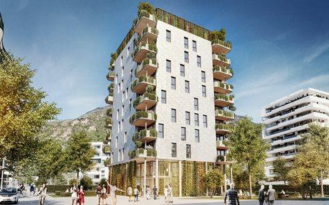 Prati di Gries - edificio residenziale in legno