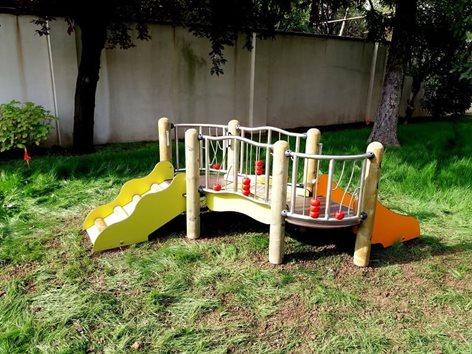 Gioco Girasole per giardino asilo nido