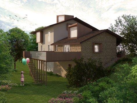 Restauro ed ampliamento casa rurale