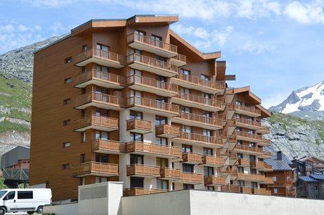"""Rinnovamento delle facciate immobile """"La Roche Blanche"""""""