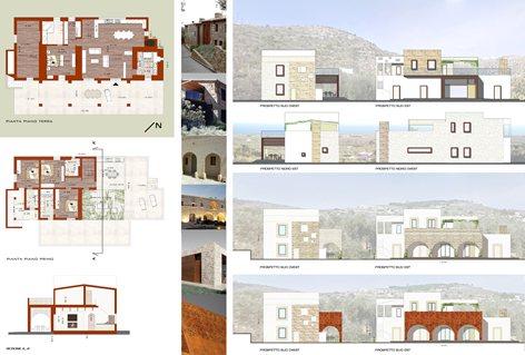 Proposte architettoniche per ristrutturazione casa in campagna