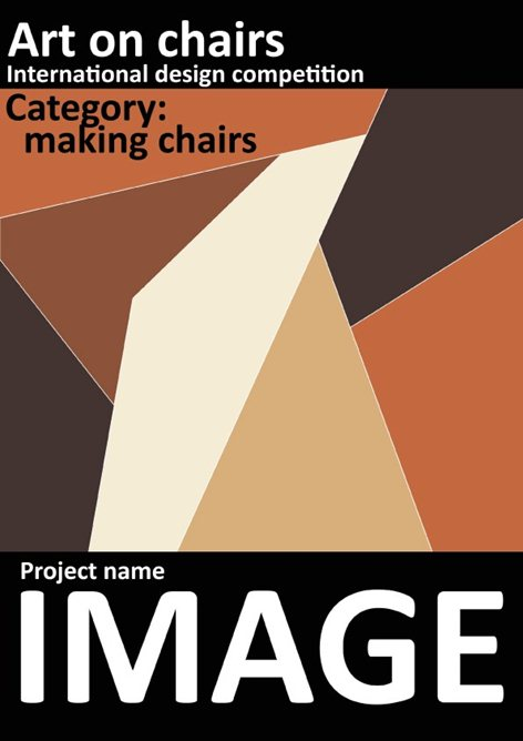 Art on chair-International design competition