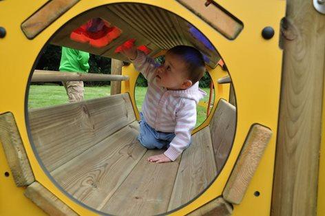 Gioco Tunnel della scoperta per asilo nido