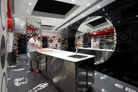 BIVERO Pizza Academy Interior design by Simone Micheli