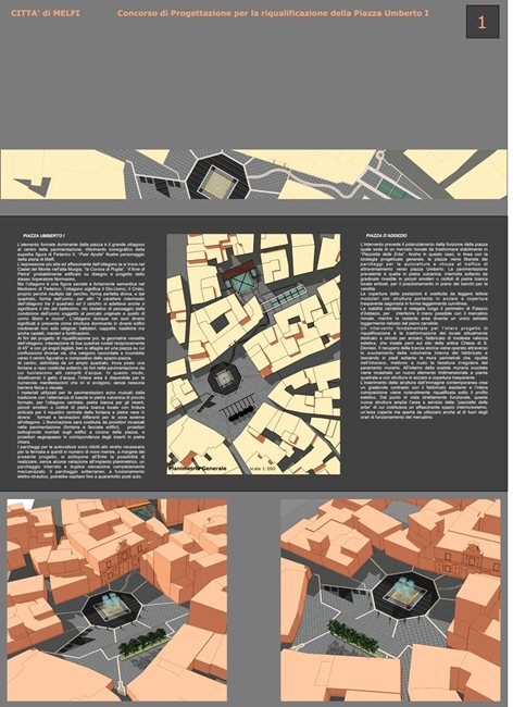 Concorso | Riqualificazione Piazza Umberto  | Segnalato