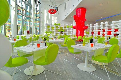 Tondo design restaurant