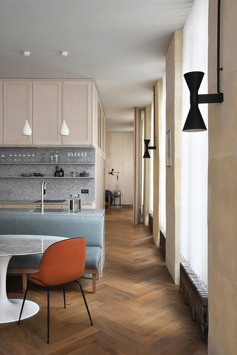 Apartment Refurbishment Rue Etienne Marcel In Paris 2e