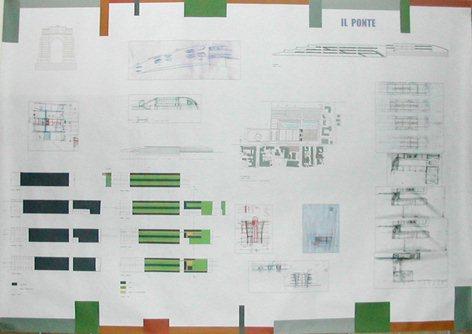 Concorso Internazionale d'idee Nuovo Municipio Area Ex Macrico  anno 2002