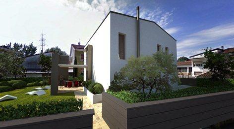 Villetta unifamiliare con finiture moderne