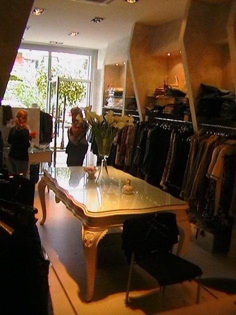 ristrutturazione di un negozio di moda