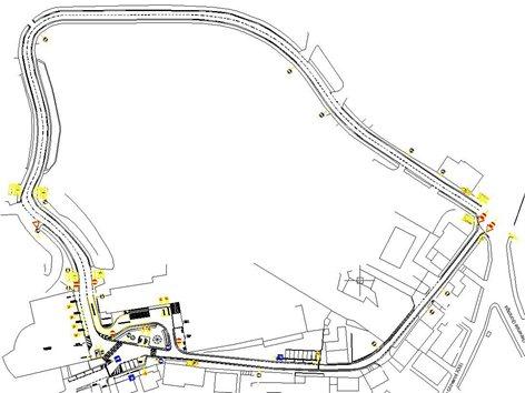 Sistemazione di via G.B. Vignola e piazza Scuola Medica Salernitana