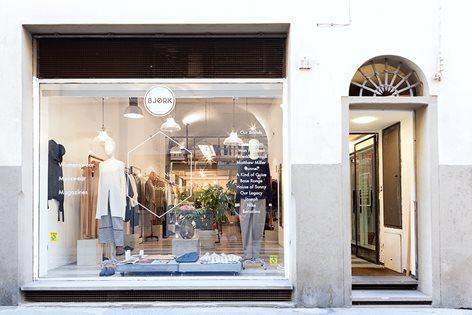 Bjork - independent store in Florence | giacomo ciolfi