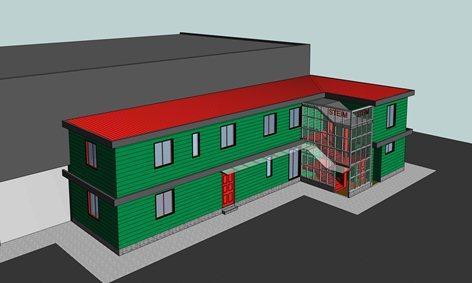 Riqualificazione ed ampliamento edificio industriale