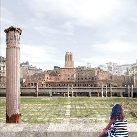 Roma Qvanta Fvit Rvina Docet  Piranesi Prix de Rome 2016 XIV Edition, concorso di idee per via dei Fori Imperiali a Roma