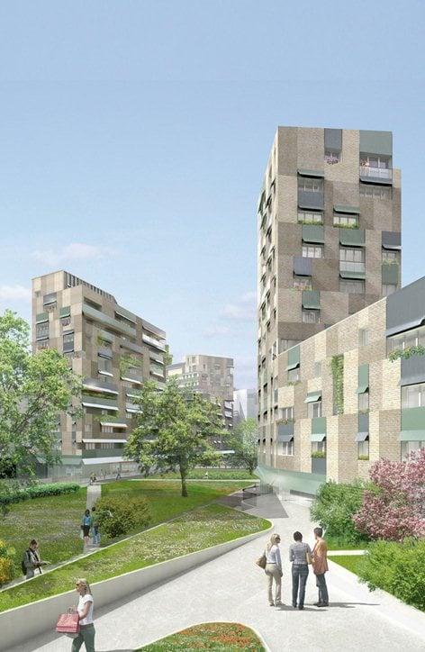 Trilogia Navile - Edifici residenziali e commerciali, Ex Mercato Fioravanti (BO)