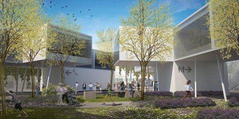 1° PREMIO - Concorso di idee per la ricostruzione degli immobili da destinare alle attività permanenti presso la Fiera del Levante - Bari