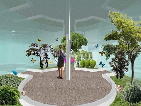"""BUTTERFLY"" clean energy farm - Salerno"