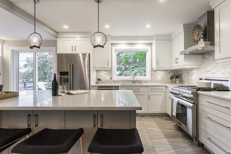 Island In A Small Kitchen