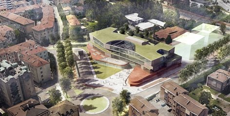 Concorso per il nuovo Liceo Artistico A.Vittoria di Trento