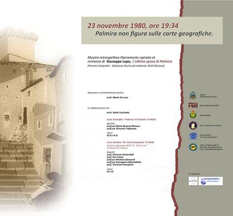 23 novembre 1980, ore 19:34. Palmira non figura sulle carte geografiche.