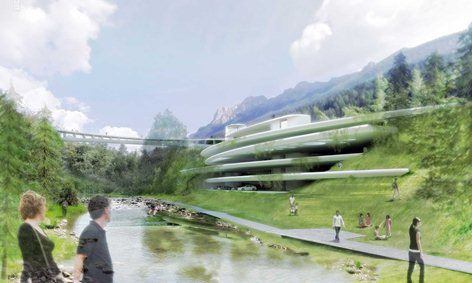 Concorso d'idee per la realizzazione di un parcheggio di testata in località Longea