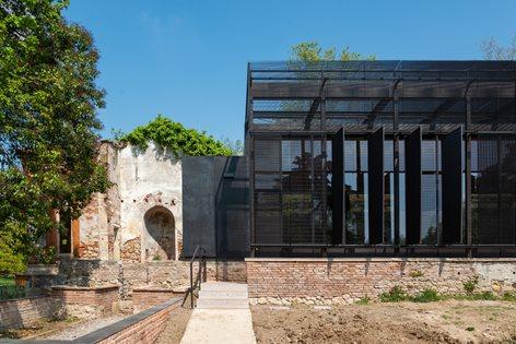 Querini park greenhouses