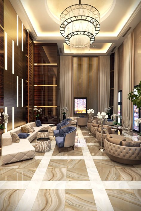 Commercial Interior Design Rendering For A Sublime Hotel Lobby Archicgi,Beautiful Simple Mehndi Designs For Kids Full Hand