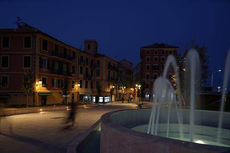 Piazza Dante a Varazze
